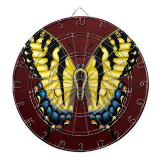 Tiger Swallowtail Butterfly Dartboard