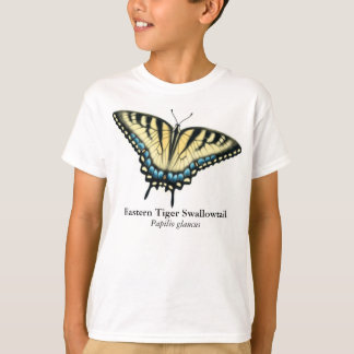 Tiger Swallowtail Butterfly Kids T-Shirt