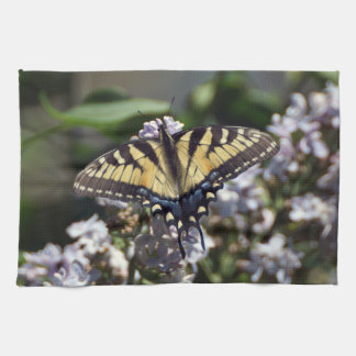 Tiger Swallowtail Butterfly Kitchen Towel