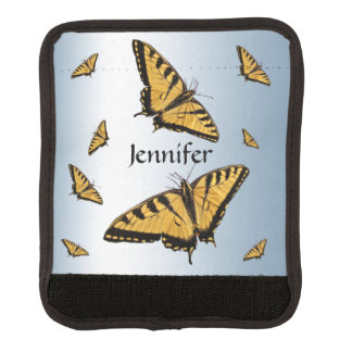 Tiger Swallowtail Butterfly Luggage Handle Wrap