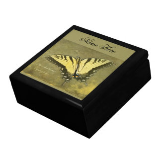 Tiger Swallowtail Butterfly - Papilio glaucus Trinket Box