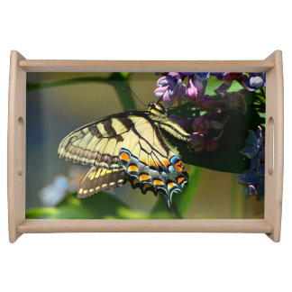 Tiger Swallowtail Butterfly Serving Tray