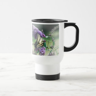 Tiger Swallowtail & Friend Travel Mug