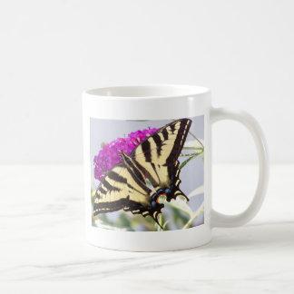 Tiger Swallowtail on Butterfly Bush Mugs