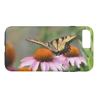 Tiger Swallowtail on Purple Coneflower iPhone 7 Plus Case
