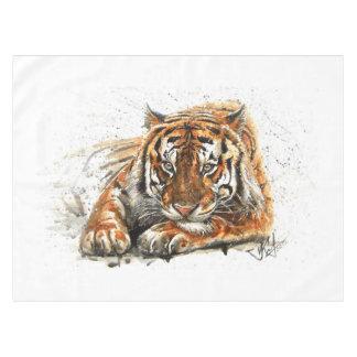 Tiger Tablecloth