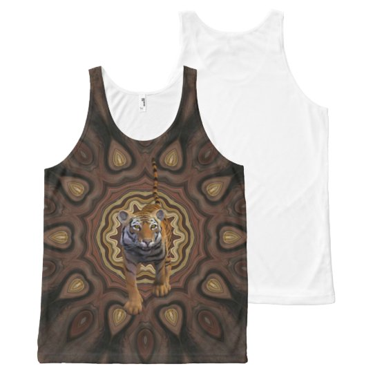 Tiger Tales. All-Over-Print Tank Top