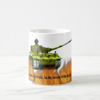 Tiger Tank Mug.. Coffee Mug