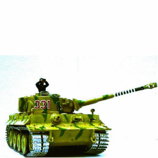 Tiger Tank Photo Sculpture