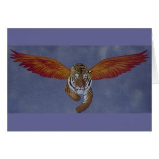 Tiger Tiger Burning Bright Card