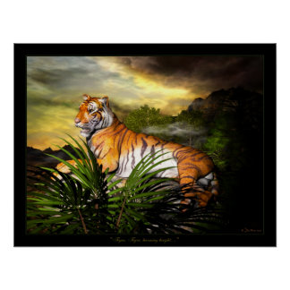 Tiger, Tiger, Burning Bright Poster