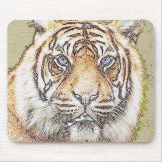 Tiger Tiger Mouse Pad