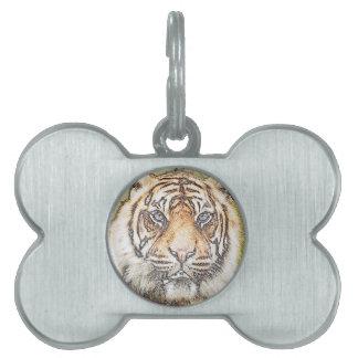 Tiger Tiger Pet ID Tags