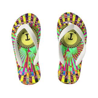 Tiger toes kid's flip flops