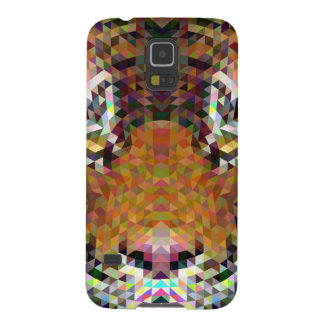Tiger Triangle Mandala Cases For Galaxy S5