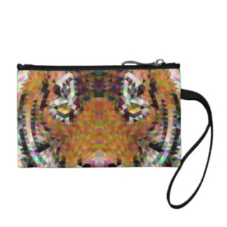 Tiger Triangle Mandala Coin Purse