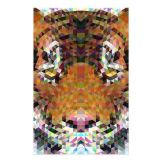 Tiger Triangle Mandala Flyer