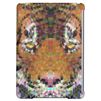Tiger Triangle Mandala iPad Air Cases