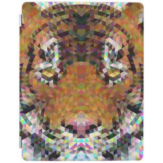 Tiger Triangle Mandala iPad Cover
