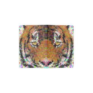 Tiger Triangle Mandala Pocket Moleskine Notebook
