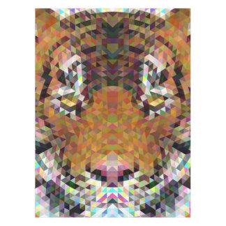 Tiger Triangle Mandala Tablecloth