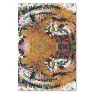 Tiger Triangle Mandala Tissue Paper