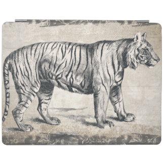Tiger Vintage Wildlife Grunge Decorative iPad Cover