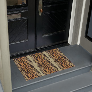 Tiger Wild Cat Cool Welcome Home Destiny Destiny'S Doormat
