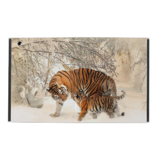 Tiger wildlife cover ipad cases