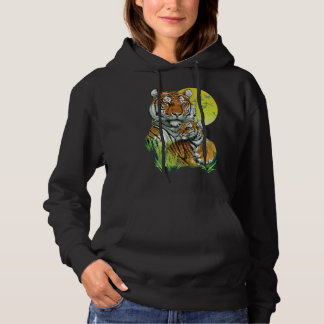 Tiger with Cub Hoodie