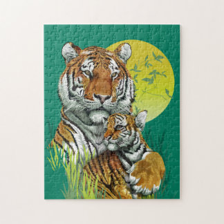 Tiger with Cub Puzzle