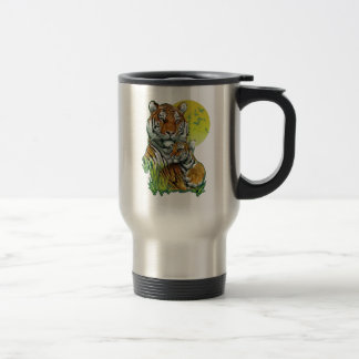 Tiger with Cub Travel Mug