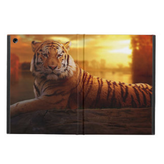 Tiger with Sunset Cover For iPad Air
