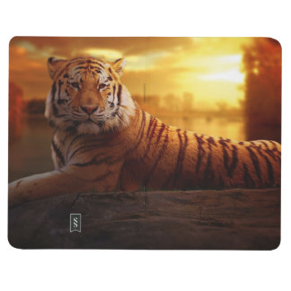 Tiger with Sunset Journal