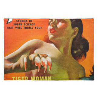 Tiger Woman Placemat