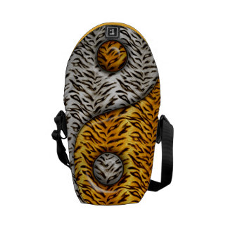 Tiger Yin Yang Courier Bag