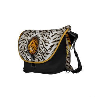 Tiger Yin Yang Messenger Bags