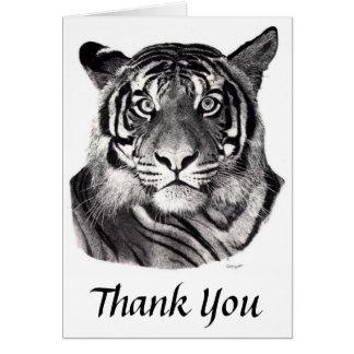 Tigereyes, Thank You Card