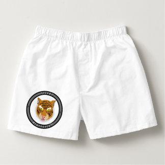 Tigers Athletics Emblem Boxers