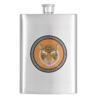 Tigers Athletics Emblem Hip Flask