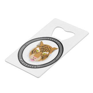 Tigers Athletics Emblem Wallet Bottle Opener