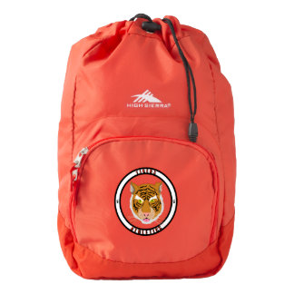 Tigers Athletics High Sierra Backpack, Red