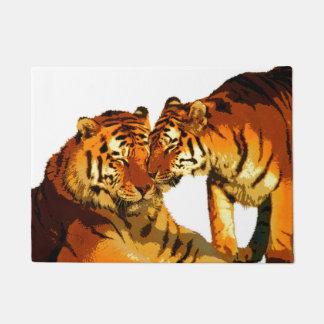 Tigers Door Mat