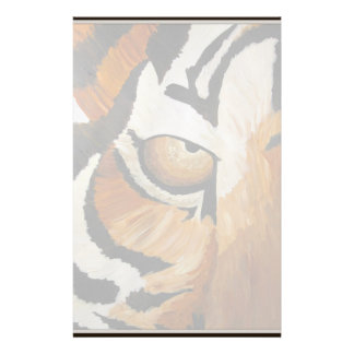 Tiger's Eye (Acrylic by Kimberly Turnbull Art) Stationery