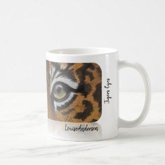 Tigers Eyes Coffee Mug
