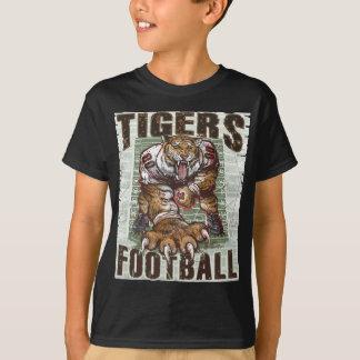 Tigers Football Rocks by Mudge Studios T-Shirt