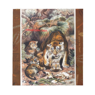 Tigers for Responsible Travel Notepad