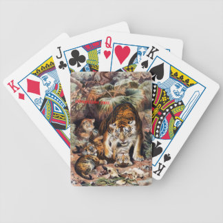 Tigers for Responsible Travel Poker Deck
