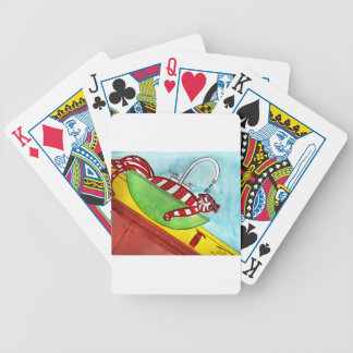 Tiger's Fountain Bicycle Playing Cards