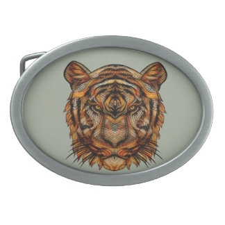 Tiger's Head 1a Belt Buckles